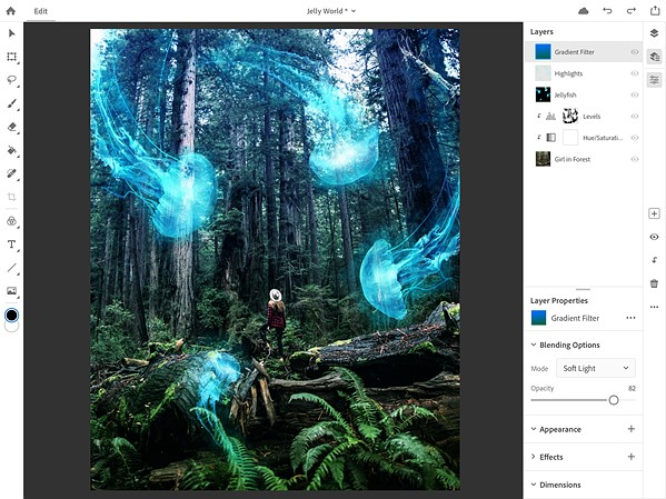 A fully-featured Photoshop is finally coming to the iPad: Digital