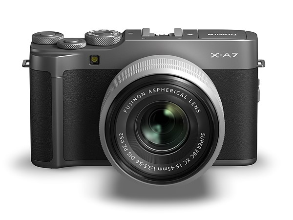 Fujifilm reveals X-A7 with improved AF, 4K/30p video and