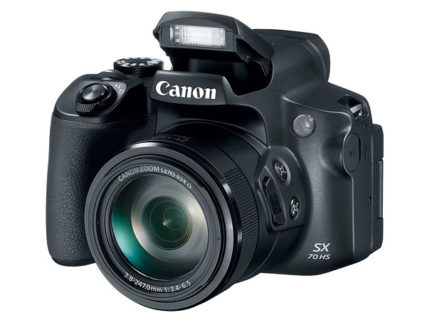 be7858b253c1 Canon PowerShot SX70 offers 65X zoom lens