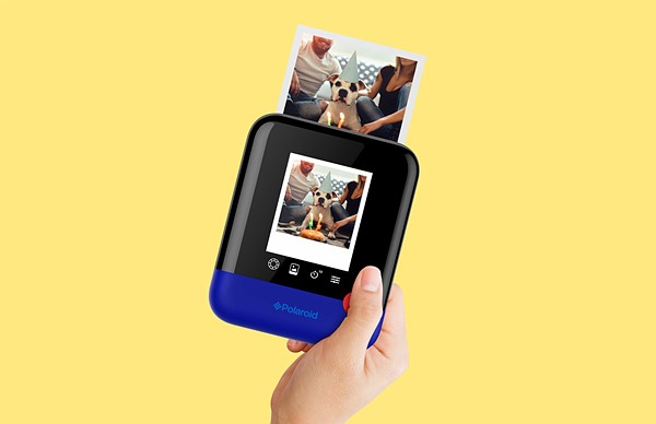 the polaroid pop instant digital camera produces 3 x 4 prints