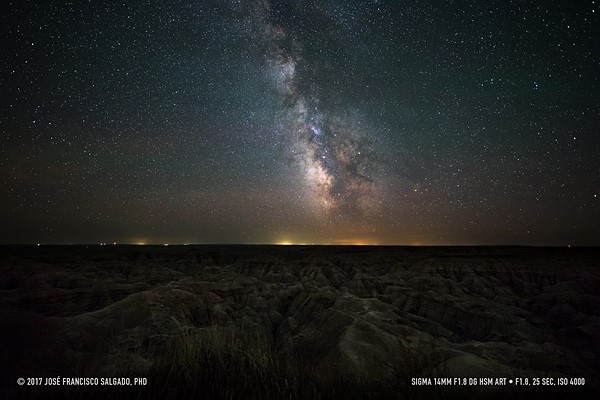 Sample gallery: Astrophotography with the Sigma 14mm F1 8 DG