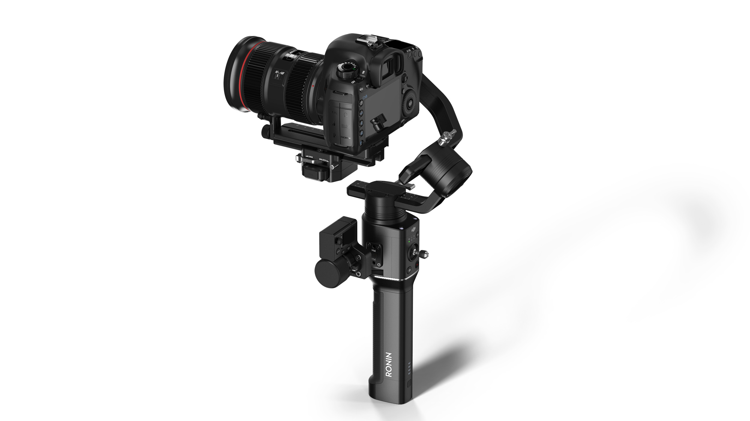 Dji Introduces Ronin S Stabilizer For Dslr And Mirrorless Cameras Zhiyun Crane 2 3 Axis With Follow Fokus Mirorrles Digital Photography Review