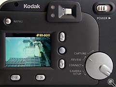 Rear of camera controls (click for larger image)