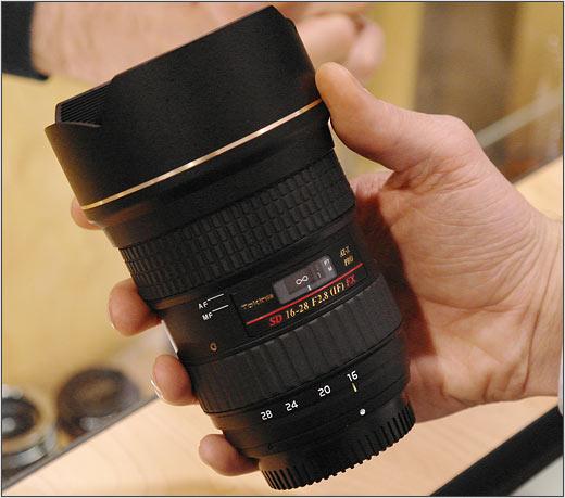 Tokina Plans 16 28mm F2 8 For Full Frame Digital