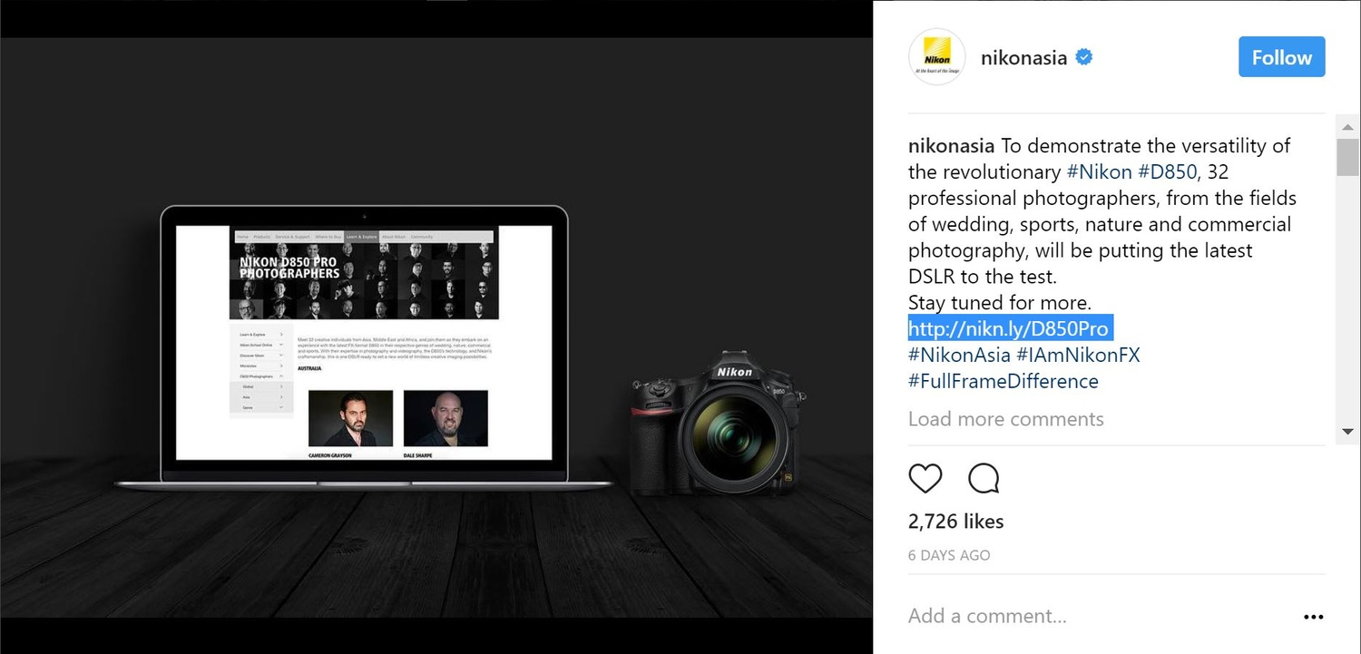 52cdd89915c Nikon Asia accused of sexism over D850 promotion that featured 32 men and 0  women  Digital Photography Review