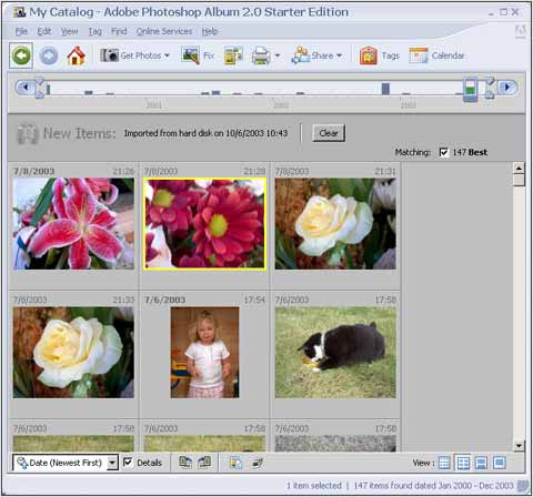 Adobe Photoshop Album 2 0 Digital Photography Review