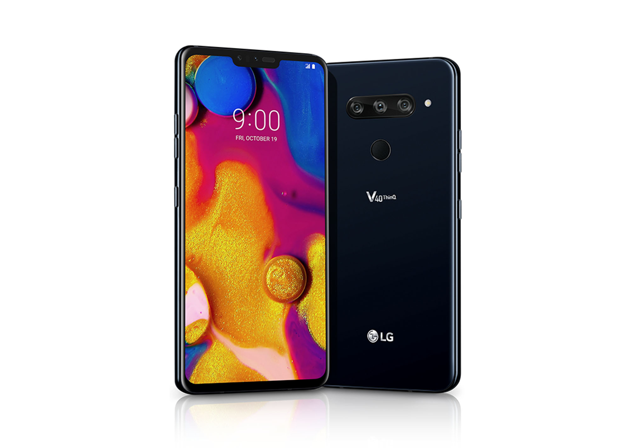 The LG V40 ThinQ is the first smartphone with wide, standard, and