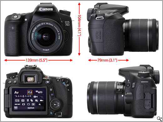 Canon Eos 70d Review Digital Photography Review
