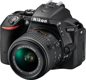 Nikon D5300 and D5500 firmware 1 01 adds support for AF-P DX