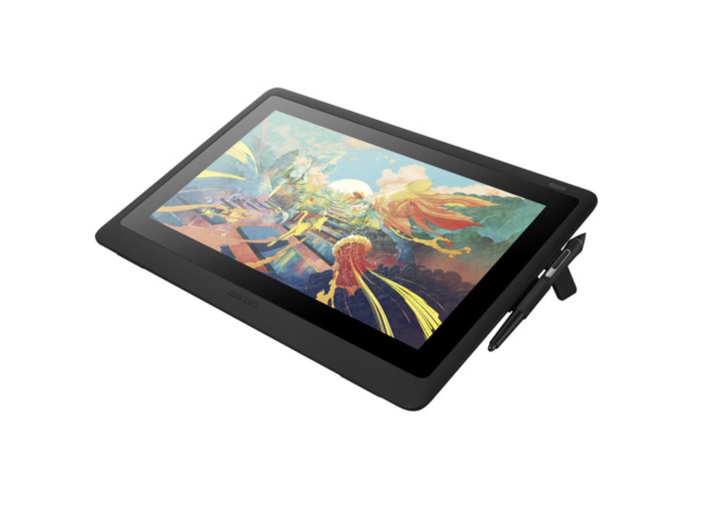 Wacom announces the Cintiq 16HD, a Full HD graphics tablet