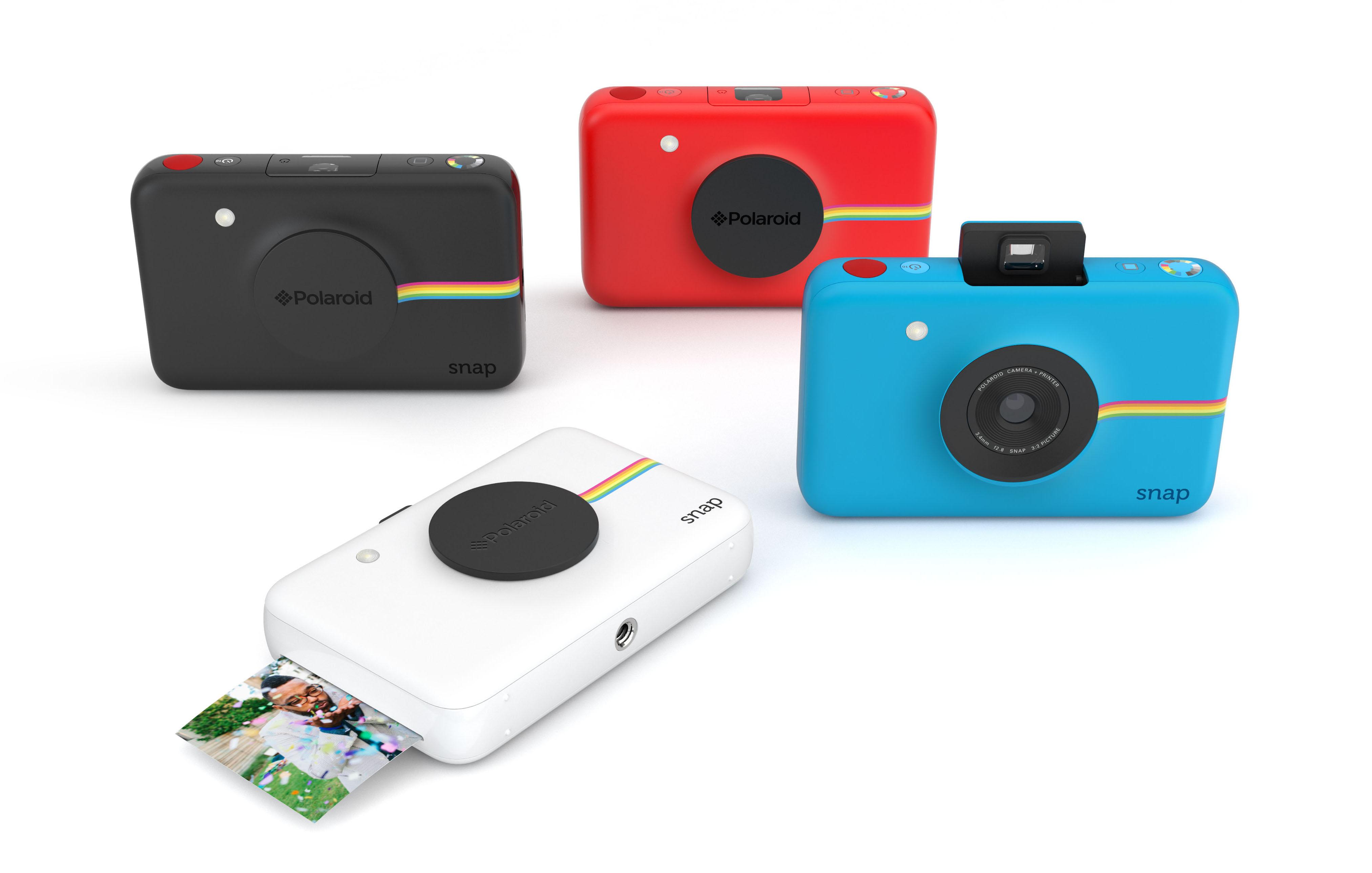 Polaroid Snap instant digital camera prints 2x3