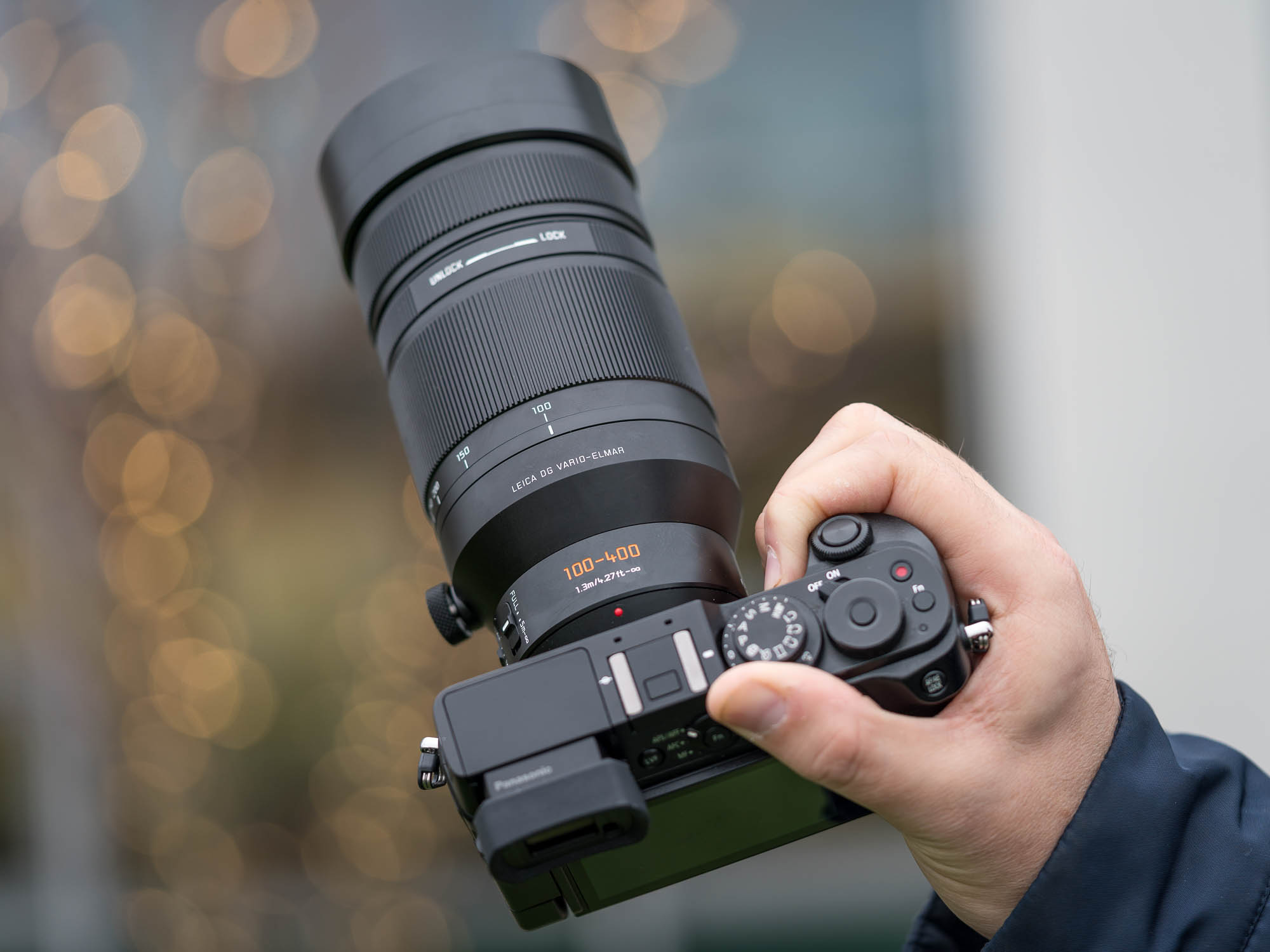 Hands On With The Panasonic Leica Dg Vario Elmar 100 400mm F4 63 Fujinon Xf F 45 56 R Lm Ois Wr Lens Digital Photography Review