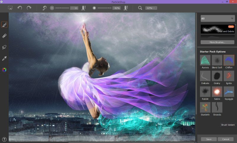Corel Releases Particleshop Brush Plugin For Photoshop Digital Photography Review