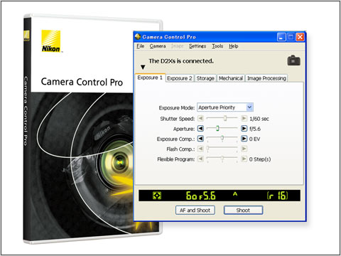 Nikon Camera Control and Authentication: Digital Photography