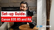 如何设置Canon EOS R5和R6  - 最佳菜单设置GydF4y2Ba