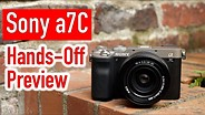 Sony a7C Hands-Off Review