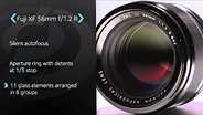 Fujifilm XF 56mm F1.2 R Product Overview