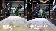 Video quality compared: Canon EOS 5DS R vs Nikon D810