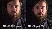 Sony a7R II 4K Low Light Video Test (FF vs Super 35 Crop)