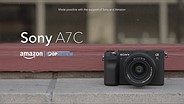 Sony a7C overview