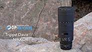 Trippe Davis and the Nikkor 70-200mm F2.8 VR S