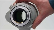 Canon EF 200-400mm f/4L IS USM Extender 1.4x operation