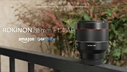 Rokinon 85mm F1.4 AF (Canon RF-mount) overview