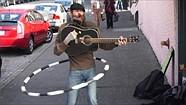Sony NEX-6 street performer sample video