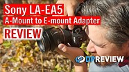 Sony LA-EA 5 Adapter Review: Real Time Tracking with vintage lenses!