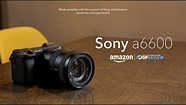Sony a6600 Product Overview