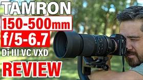 Tamron 150-500mm f/5-6.7 Di III VC VXD Review