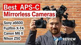 Best APS-C Mirrorless Cameras 2021 – Sony a6600, Fujifilm X-T4, Canon M6 Mark II & Nikon Z50
