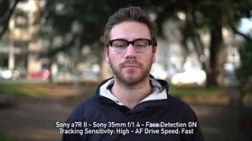 Sony a7R II Video AF: Face Tracking Comparison vs Canon 5DS & Nikon D810 by DPReview.com