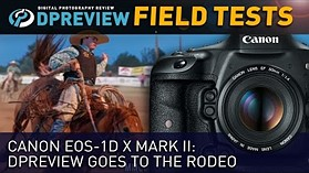 Field Test - Canon EOS-1D X Mark II: DPReview goes to the rodeo