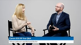Canon EOS RP live Q&A by DPReview.com
