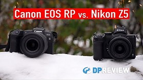 Best entry-level full-frame mirrorless camera: Nikon Z5 vs. Canon EOS RP