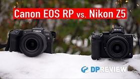 Best entry-level full-frame mirrorless camera: Nikon Z5 vs. Canon EOS RP