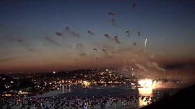 Sony Cyber-shot DSC-RX100 IV 4K fireworks video